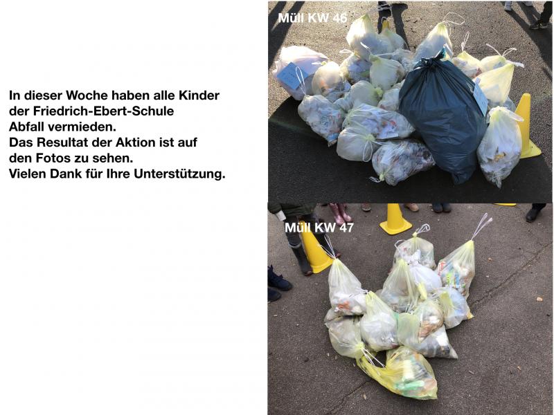 Aktion Abfall Vermeiden 23 11 2018 Friedrich Ebert Schule Uetersen